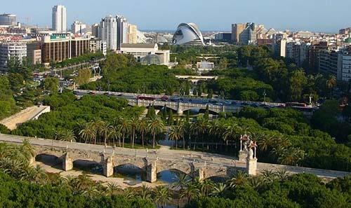 Visita el jard n del turia en valencia gu a de valencia - Jardin del turia valencia ...