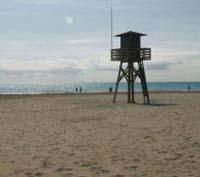 Playa Racó de la Mar en Canet de Berenguer (Valencia)